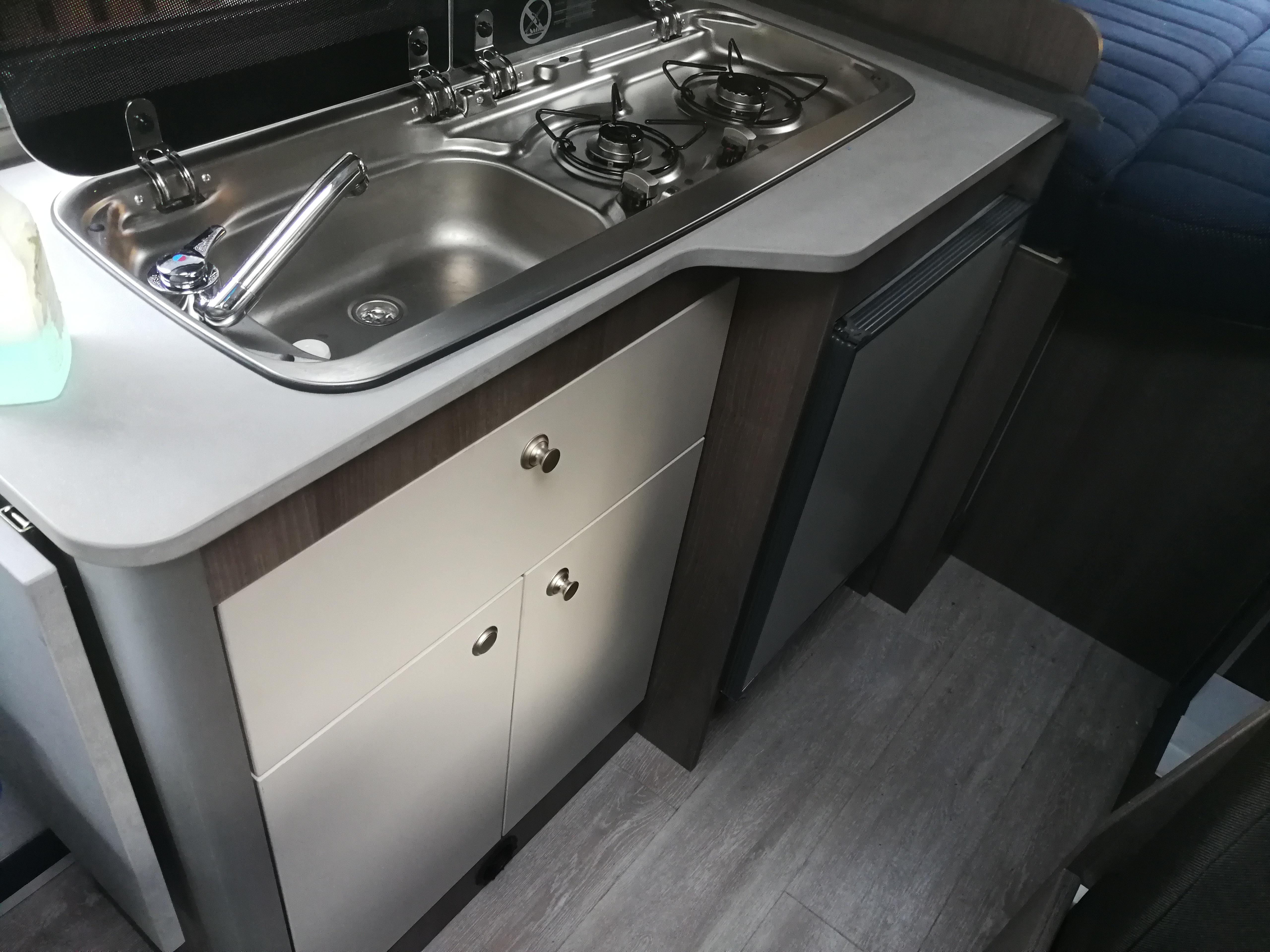 keuken camperbus